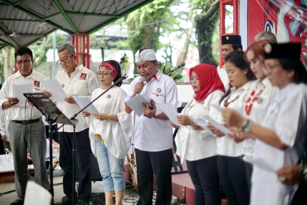Rudi Harsa Tanaya dan ReJo 99 Indonesia Ikrarkan Tekad